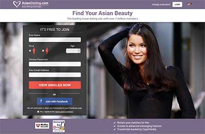 Best asian dating site for free