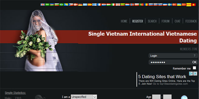Vietnam dating service